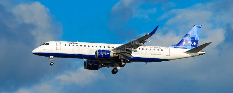 Jet Blue Airlines foto de archivo