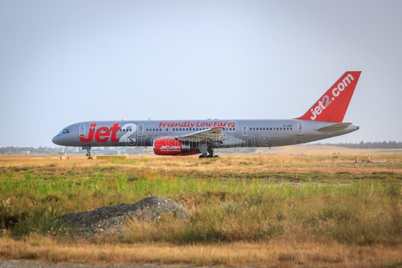 Jet2 Boeing 757 arkivfoton