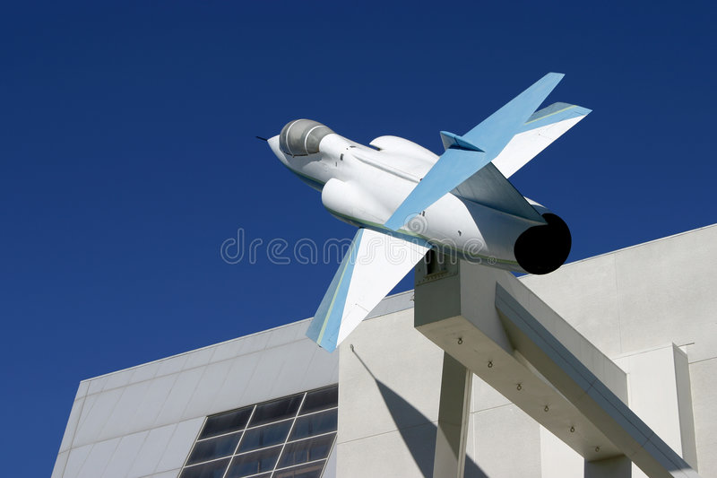 Jet Building 2 stock photos