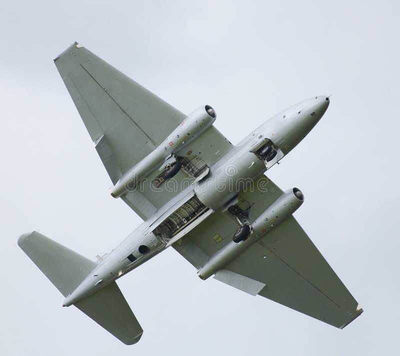 Jet Canberra della guerra fredda immagine stock libera da diritti