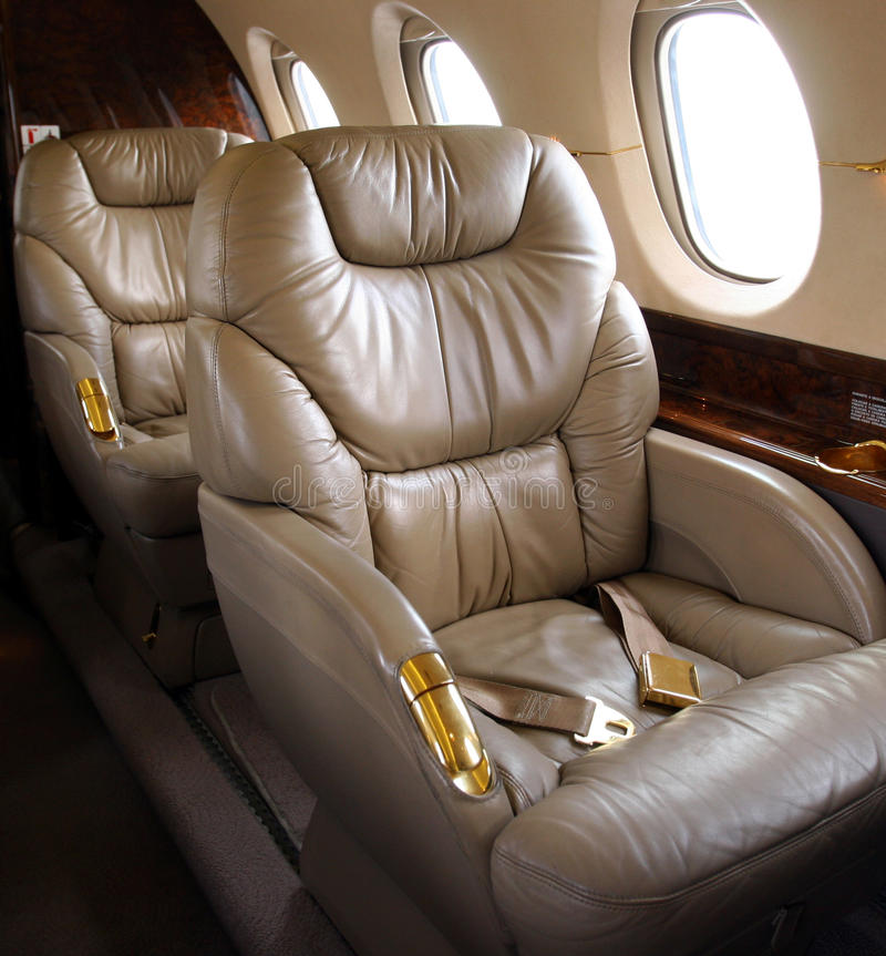 Jet corporativo foto de archivo