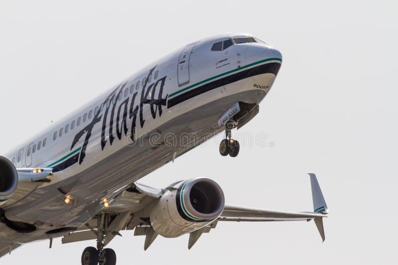 Jet d'air de l'Alaska image stock