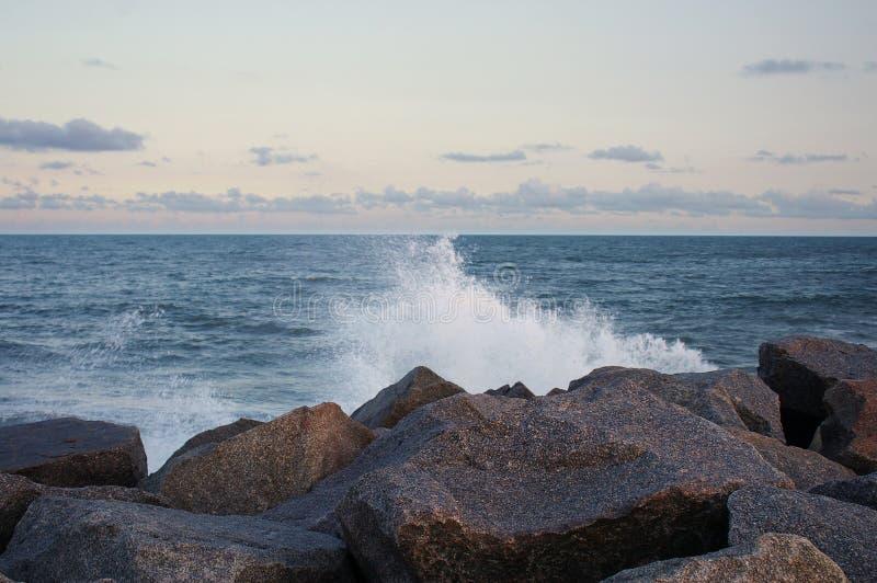 Jet d'océan photos libres de droits