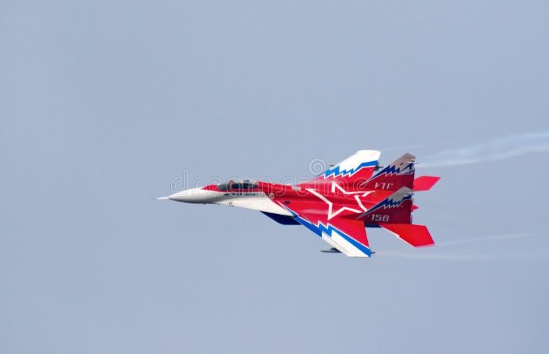 Jet de MiG-29OVT fotografía de archivo libre de regalías