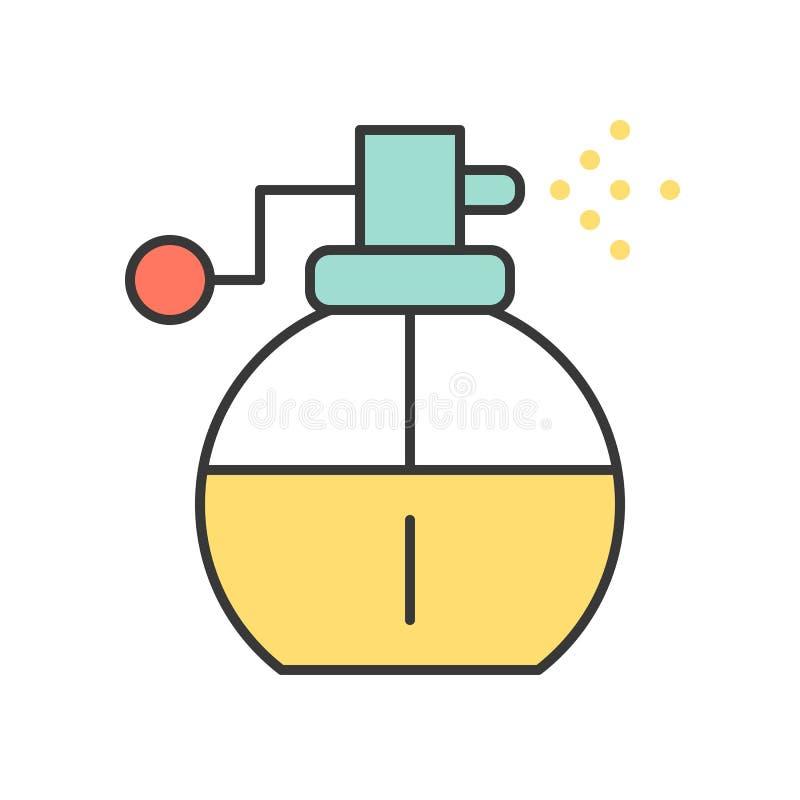 Jet de parfum illustration libre de droits