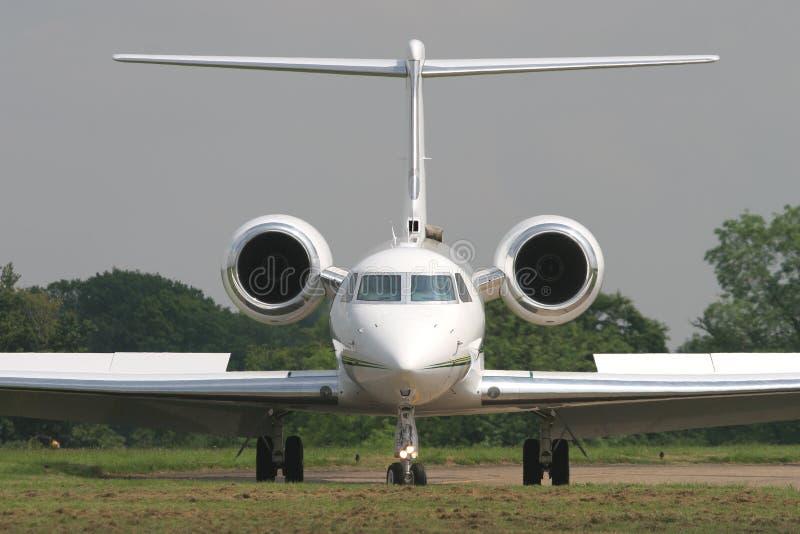 Jet del ejecutivo de Gulfstream fotografía de archivo libre de regalías
