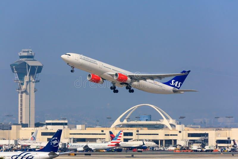 Jet del SAS en Los Ángeles fotos de archivo