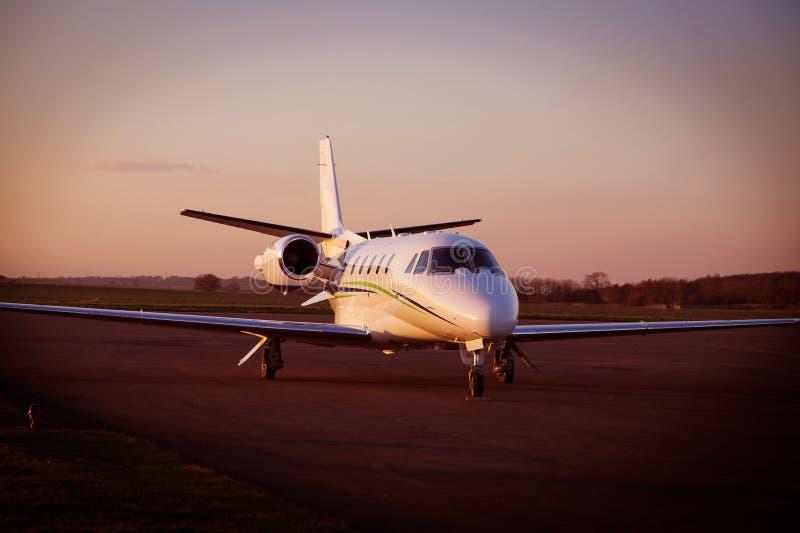 Jet di affari fotografia stock libera da diritti