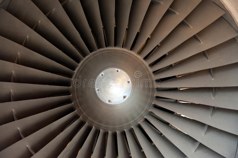 A jet engine royalty free stock images