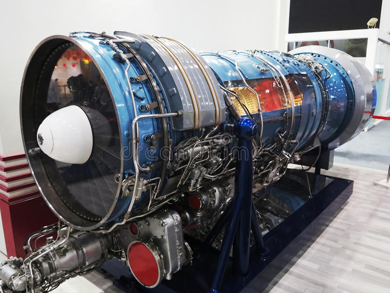Jet Engine images stock
