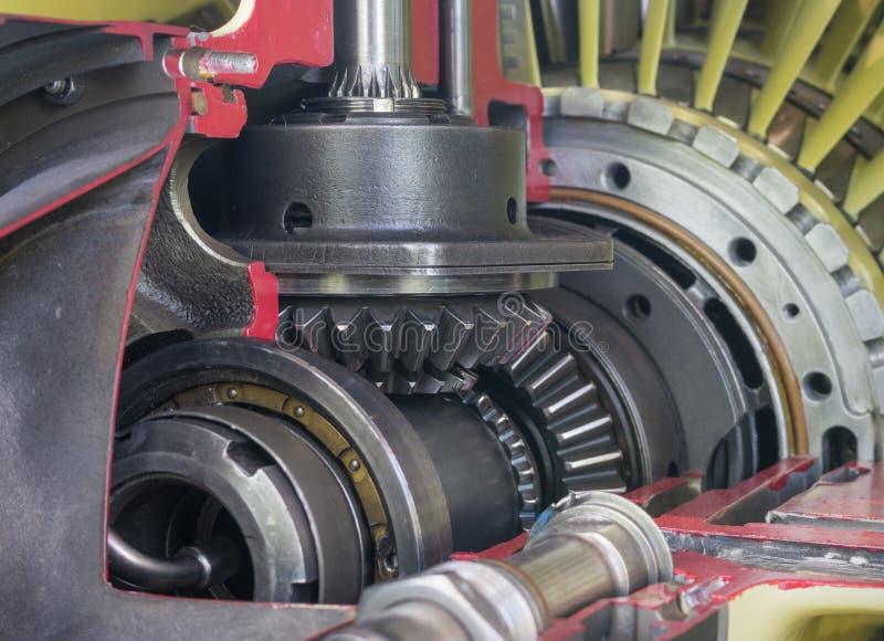 Jet Engine royaltyfri bild