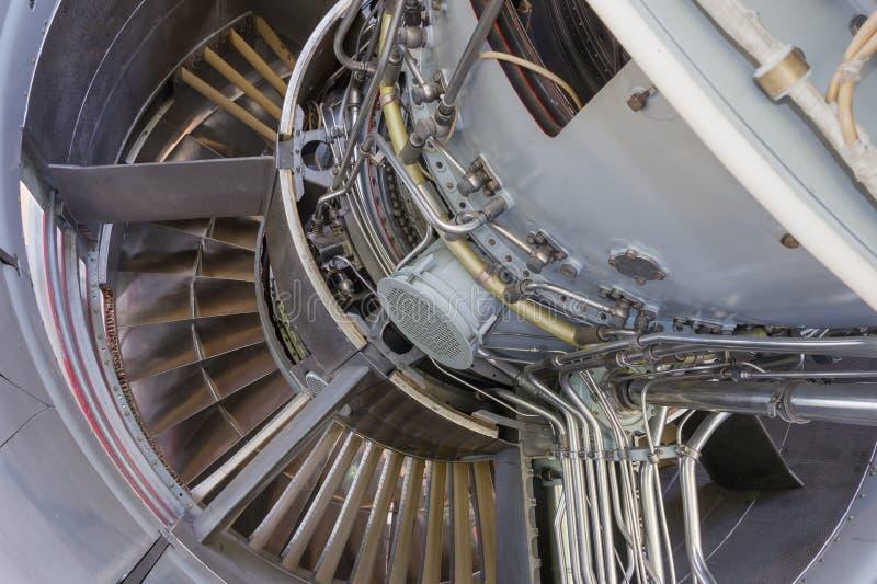 Jet Engine fotografering för bildbyråer