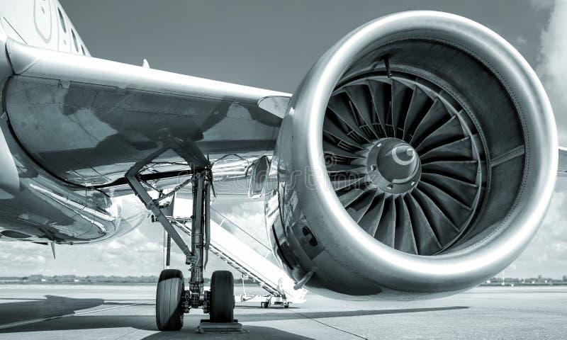Jet Engine immagine stock