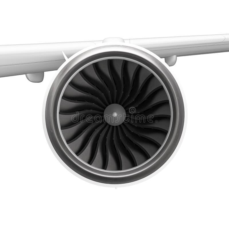 Download Jet engine stock illustration. Image of propulsion, aircraft - 33281378