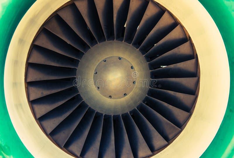 Jet Engine Turbine imagenes de archivo