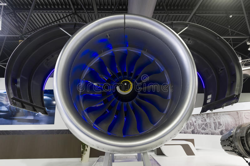 Jet Engine Turbine photographie stock