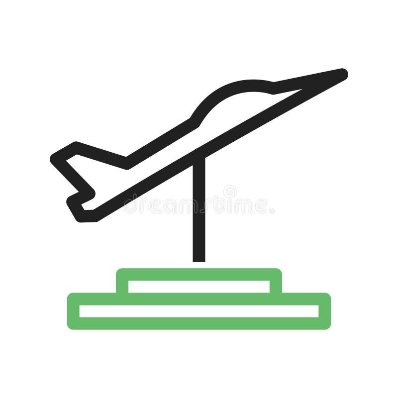 Jet Exhibit stock illustratie