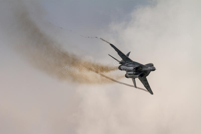 Jet Fighter stock afbeelding