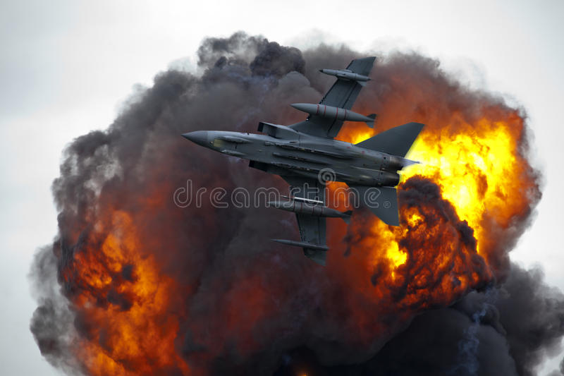 Download Jet fighter stock image. Image of wartime, dangerous - 34161231