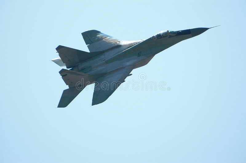 Jet fighter II royalty free stock photos