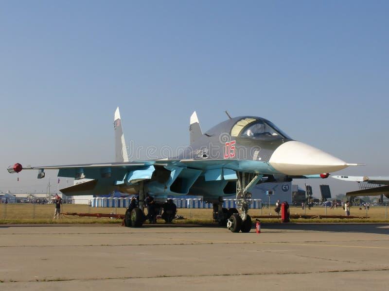Jet Fighter Su-34 Editorial Photo