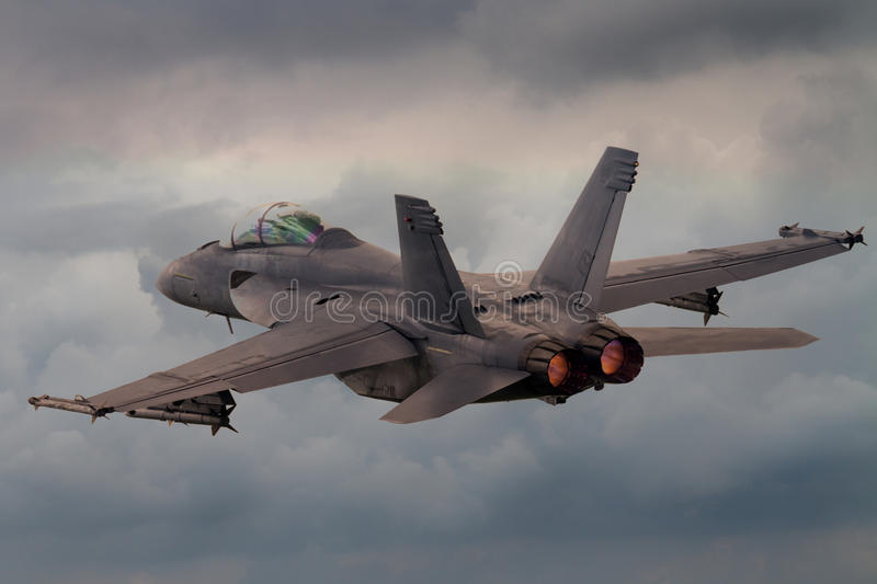 Jet Fighter stock image