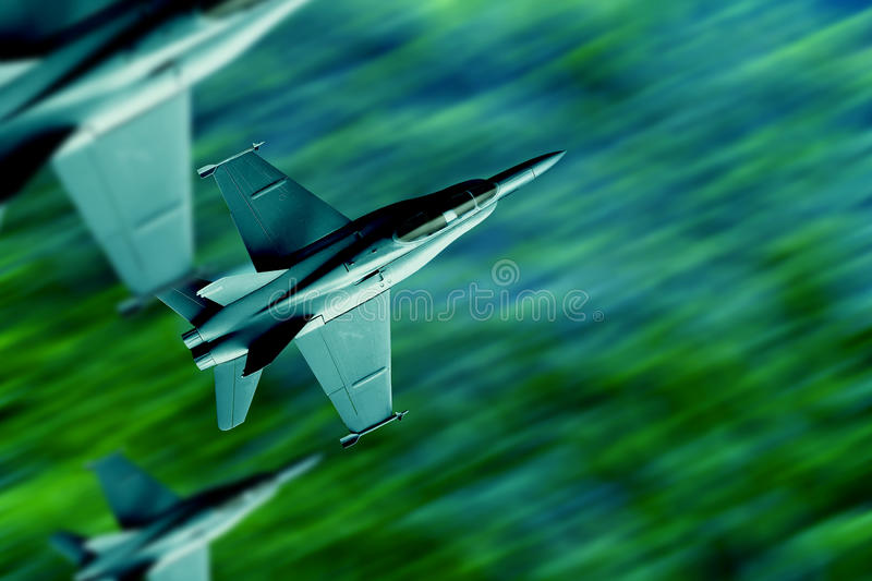 Jet fighters royalty free stock image
