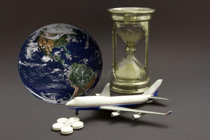 Jet Lag Concept imagem de stock royalty free