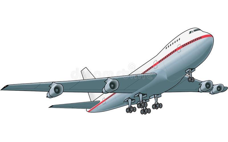 Jet Liner Vector Illustration libre illustration