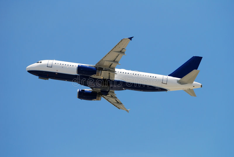 jet lotniczego pasażerów zdjęcia royalty free