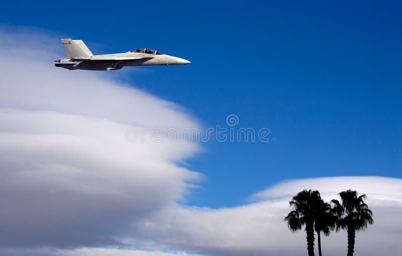 Jet militar fotos de archivo libres de regalías