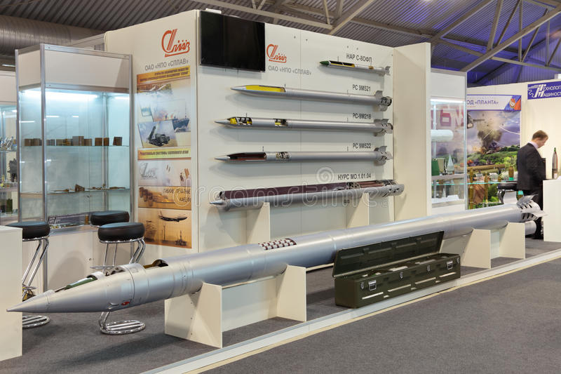 Download Jet Missiles Of Various Purposes Editorial Stock Image - Image of exhibition, defence: 41910349