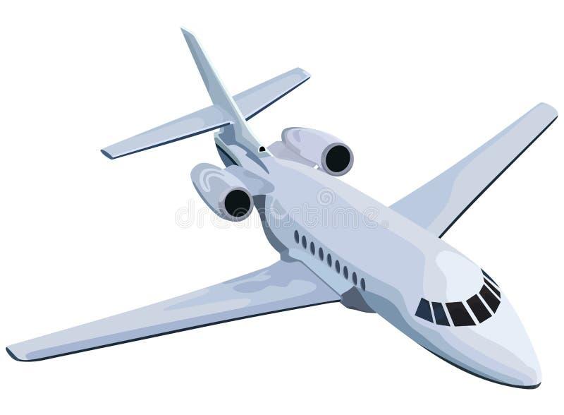 Jet royalty-vrije illustratie