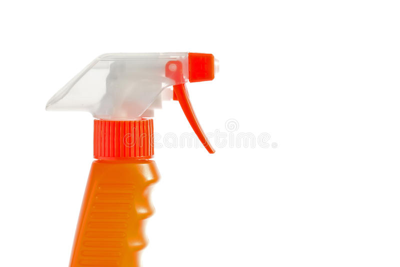 Jet orange de déclenchement photos libres de droits