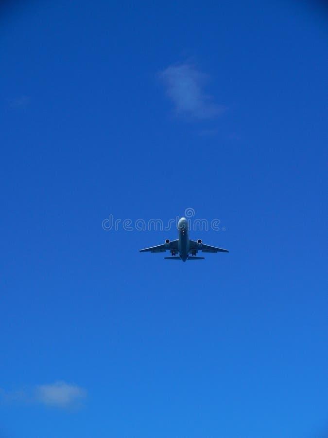 Jet Plane royaltyfria bilder