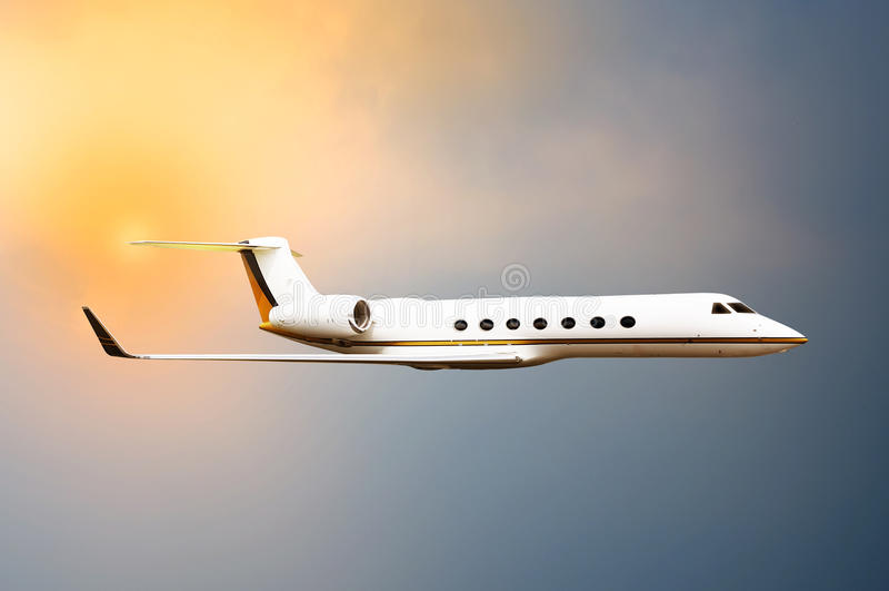 Jet Plane Flying photos stock