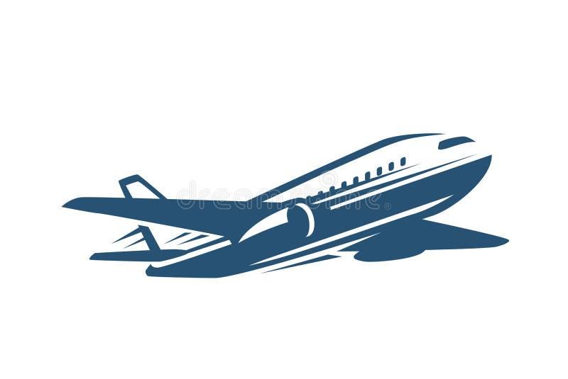 Jet Plane Icon lizenzfreie abbildung