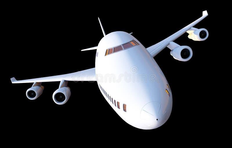 Jet Plane Illustration illustration stock