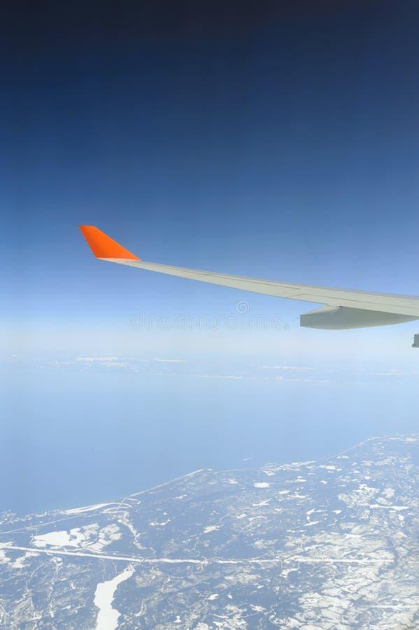 Jet plane wing