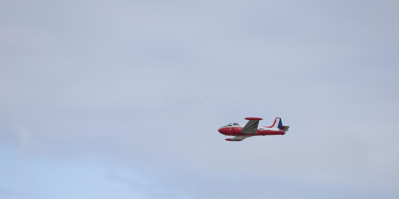 Jet Provost Flight stock foto's