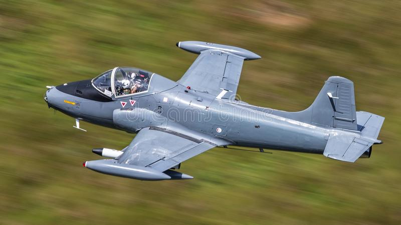 Jet Provost-vliegtuigen stock fotografie