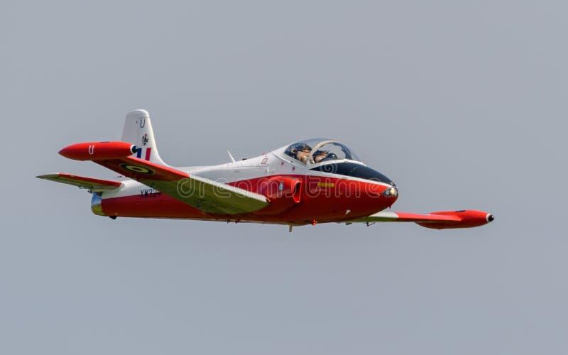 Jet Provost-vliegtuigen stock foto