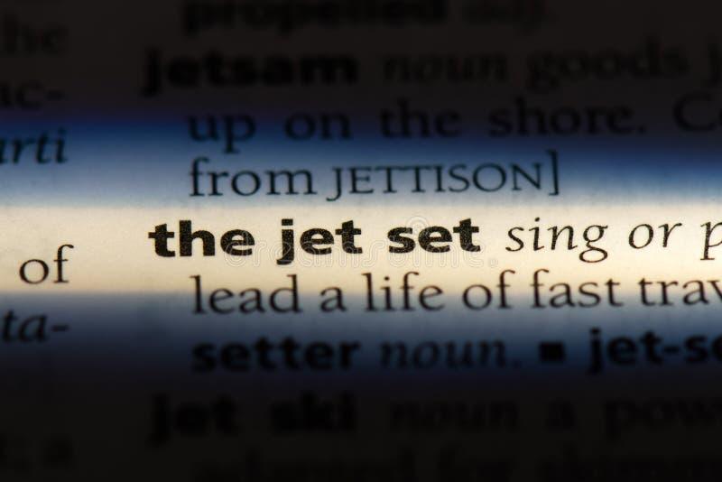 Jet Set photos libres de droits