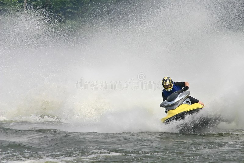 Download Jet ski stock photo. Image of ocean, person, summers, jetski - 282520