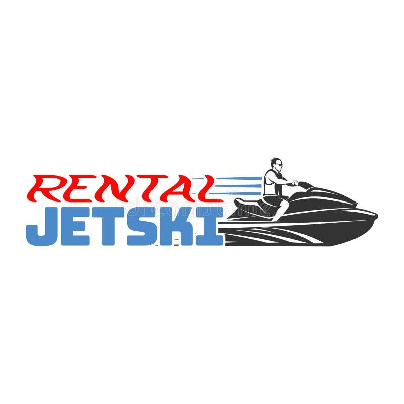 jet ski rental logo badges and emblems isolated on white background rh dreamstime com sea doo logo size sea doo logo stickers