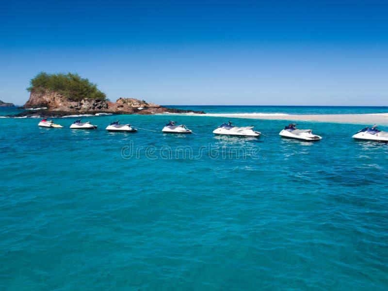 Jet Ski Tour - les Fidji photos libres de droits