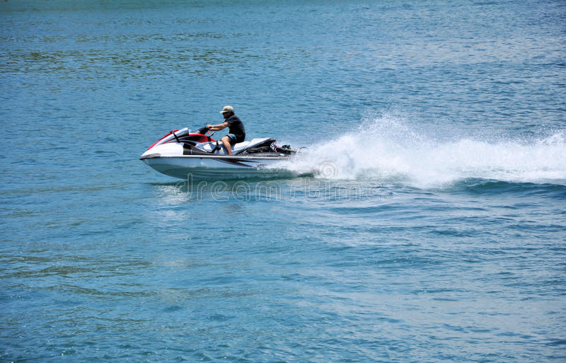 Jet sky stock photos