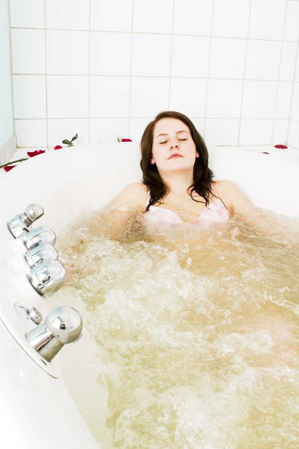 Jet Tub Cure Bath stock photo. Image of body, female, relaxation ...