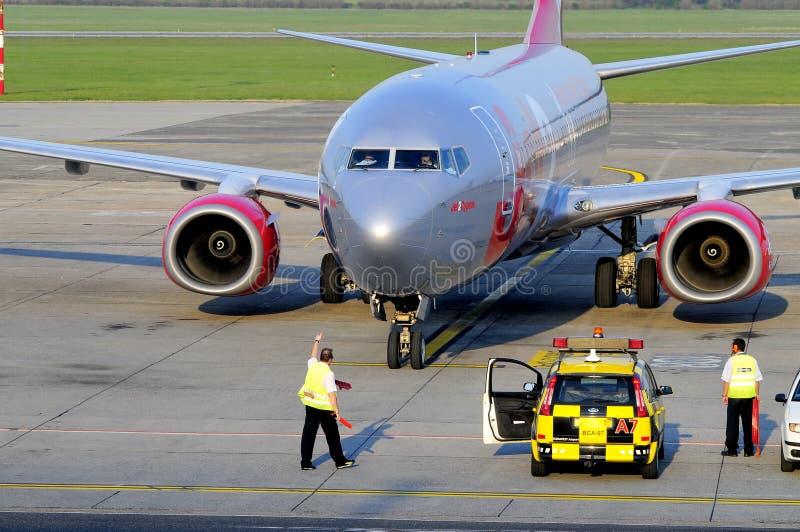 Jet2 Arriving Editorial Stock Photo