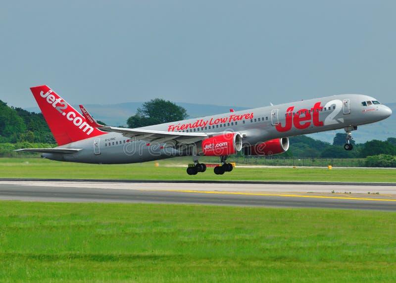 Jet2.com Boeing 757 stockbilder